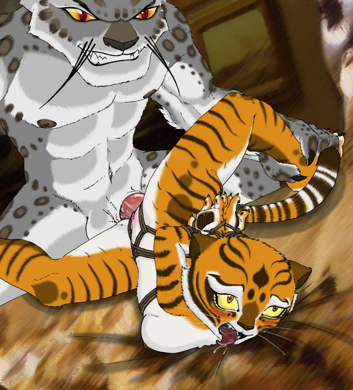 po is a kung fu fanfiction panda tiger Peaches and cream porn comic