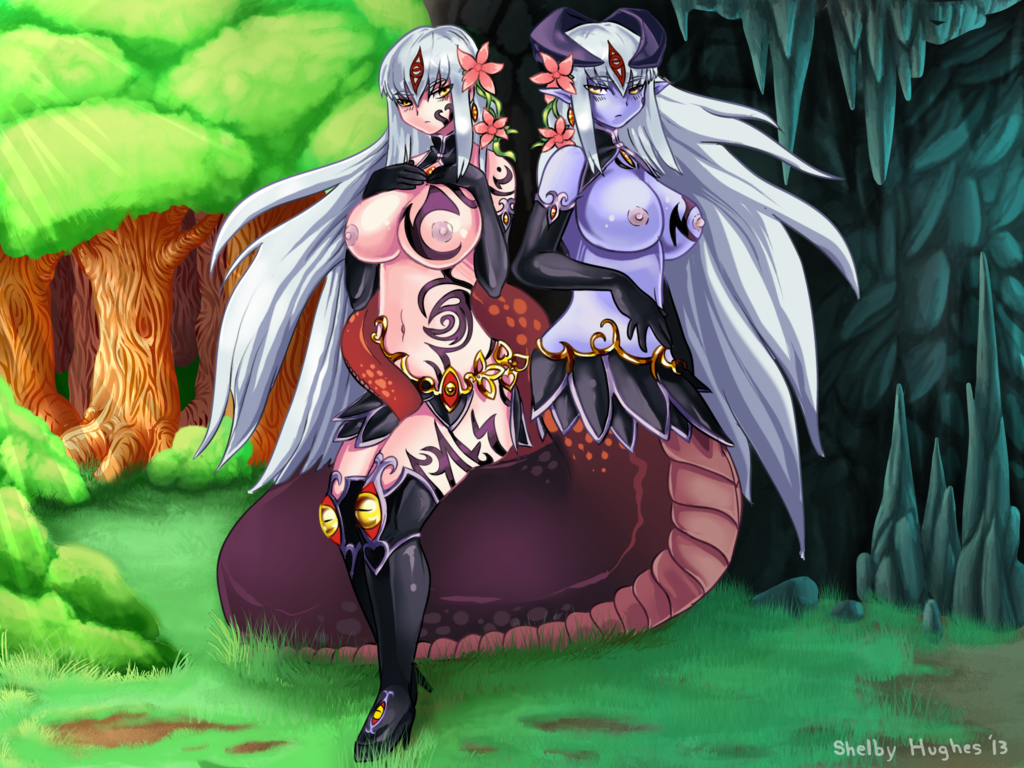 quest girl monster lamia tiny The grim reaper who reaped my heart!