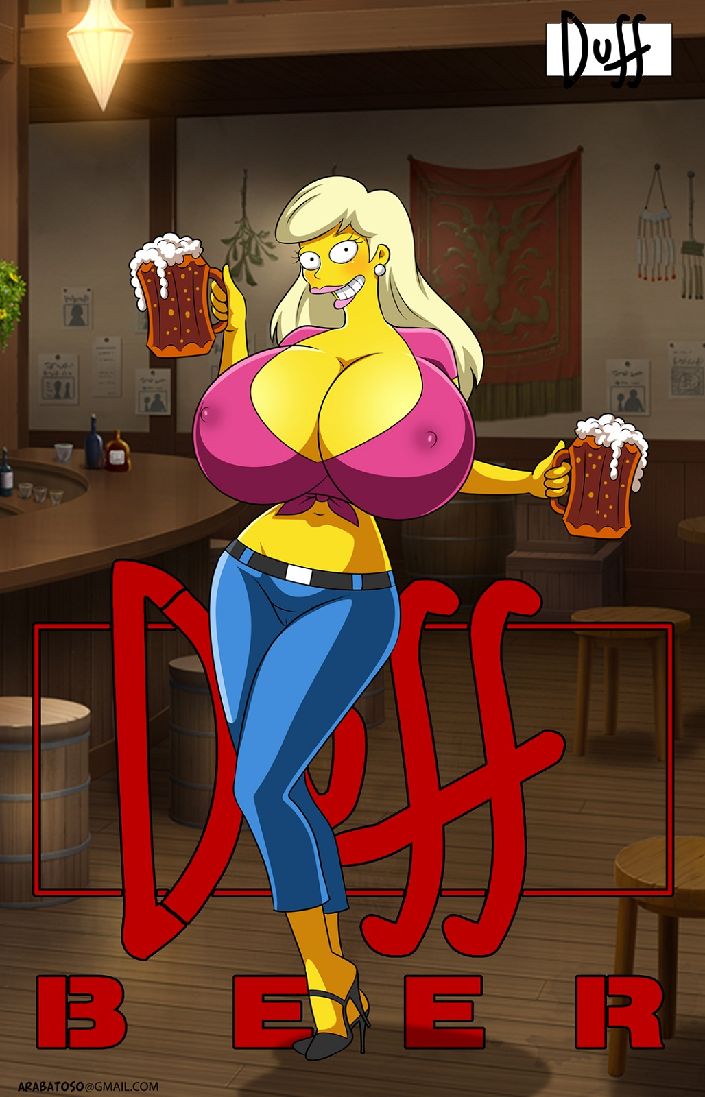 simpsons from naked the marge What are the angels evangelion