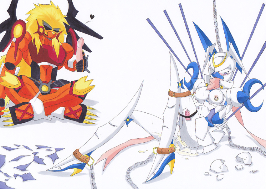 sleuth dianamon story cyber digimon Queen vanessa hat in time