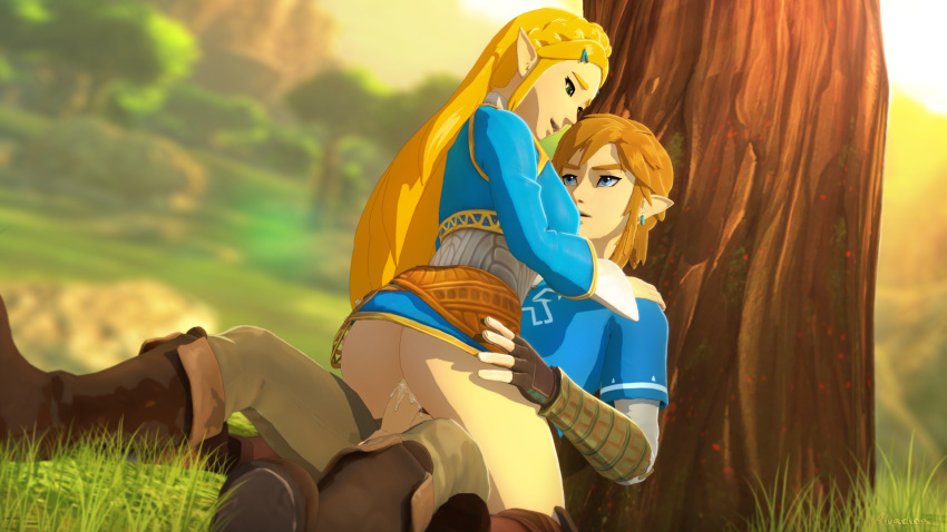 link the of hentai breath wild Morgan hair color fire emblem