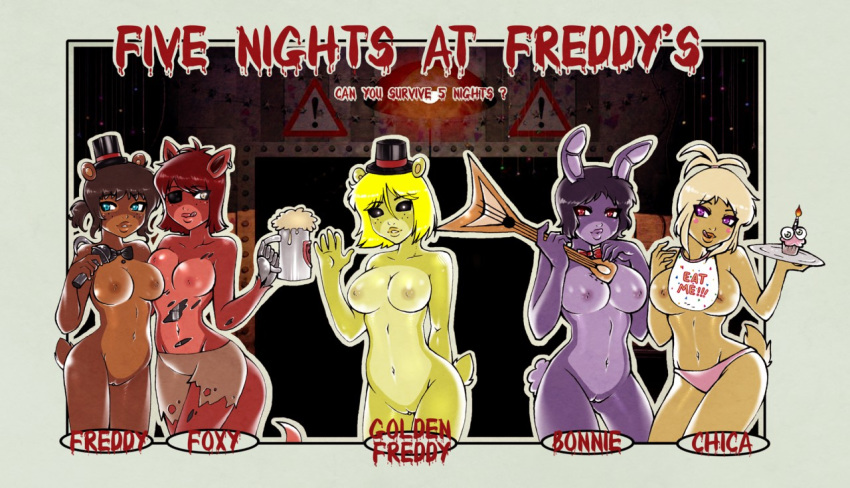 x freddy foxy ft ft The sea king one punch man